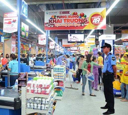 Bảo vệ siêu thị chất lượng cao